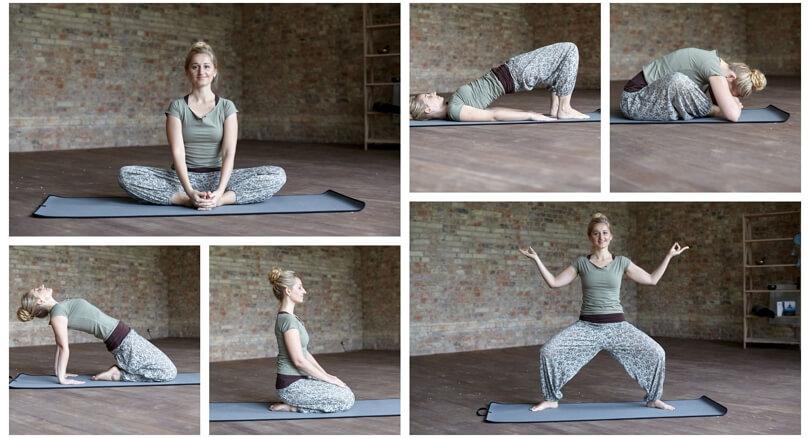 Асаны йоги с учетом КПП — Ольга Баталова (29 фото)