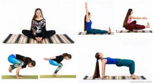 Асаны йоги с учетом КПП — Анна Севериненко (30 фото)