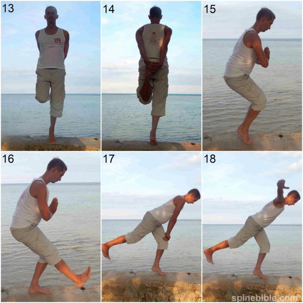 Асаны йоги для развития ловкости