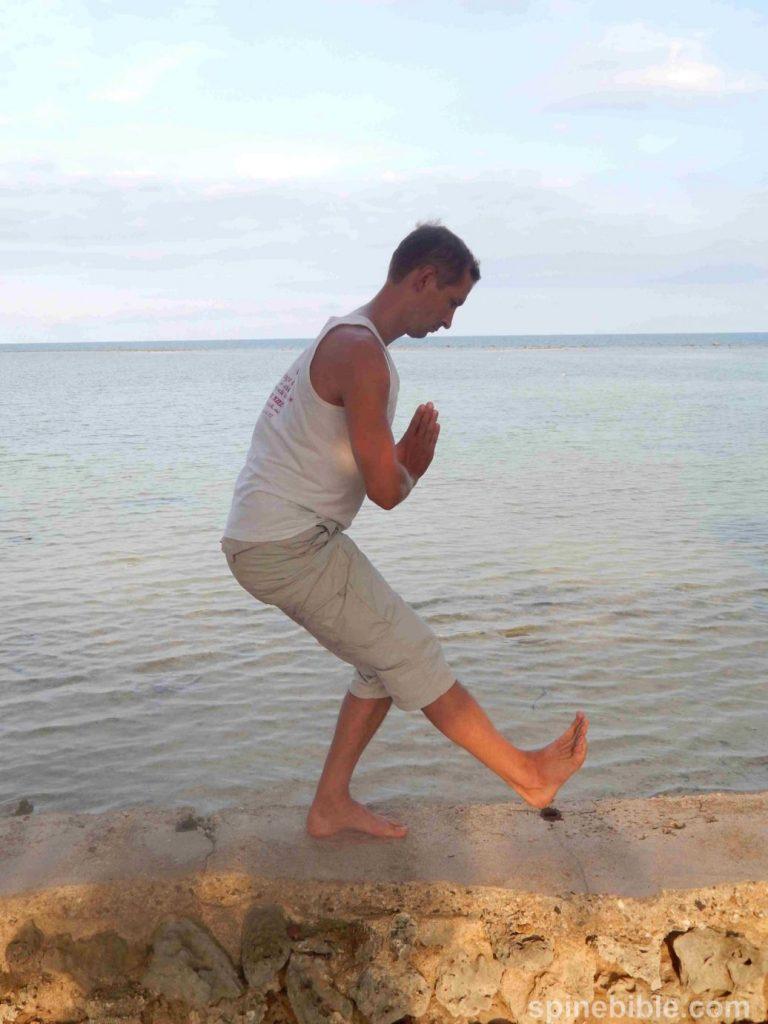 Асана йоги. Уткатасана