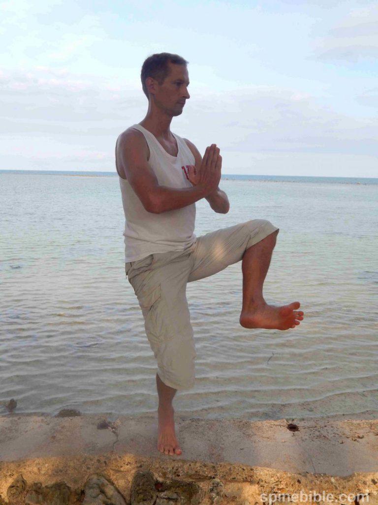Асана йоги. Танцующий Шива