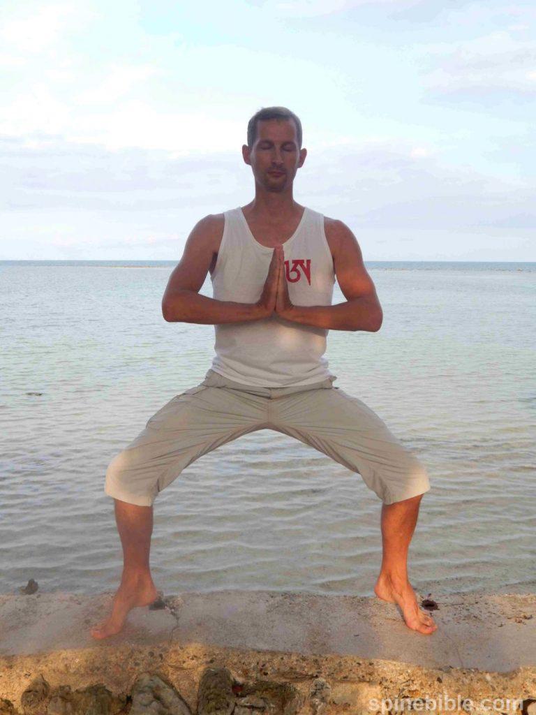 Асана йоги. Поза всадника