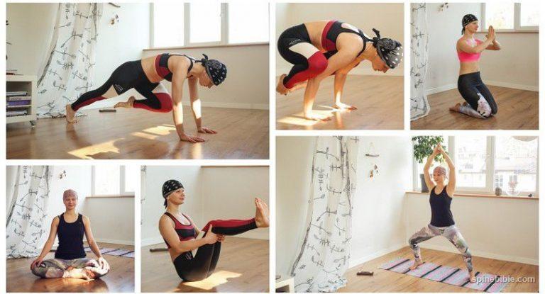 Асаны йоги с учетом КПП — Катя Герасименко (31 фото)