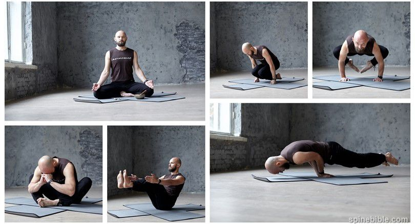 Асаны йоги с учетом КПП — Александр Баталов (33 фото)
