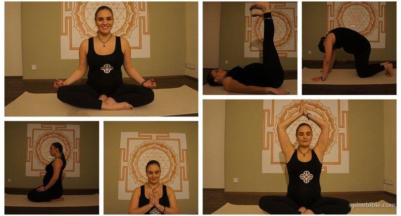 Асаны йоги для беременных