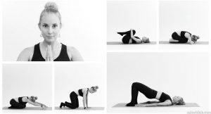 Женская йога с учетом КПП  — Евгения Лазаревич (7 фото)
