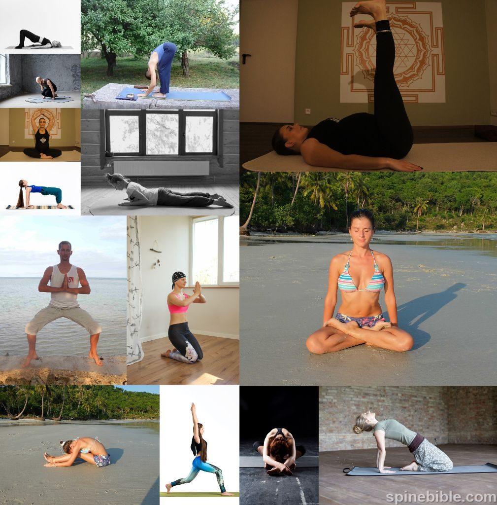 Асаны йоги: рекомендации и замечания