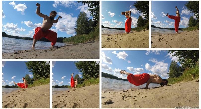 Асаны йоги на природе с учетом КПП (7 фото) — Андрей Арещенко