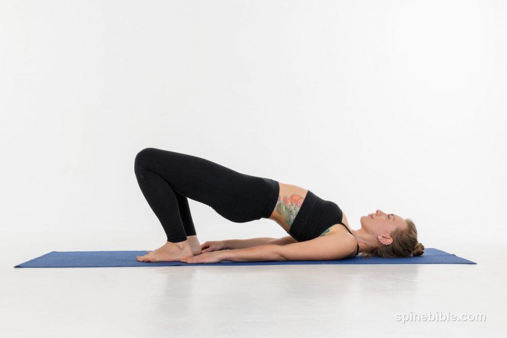 Асана йоги. Ардха Чакрасана.