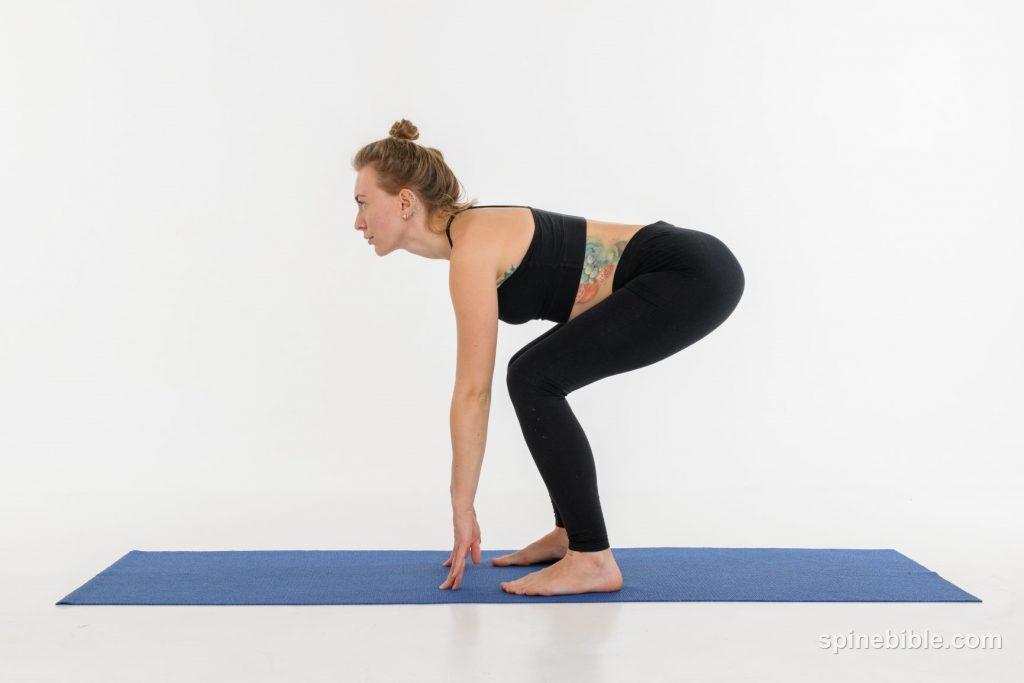 Асана йоги. Уртхва уттана