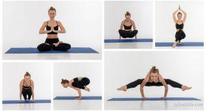 Асаны йоги с учетом КПП  (84 фото)