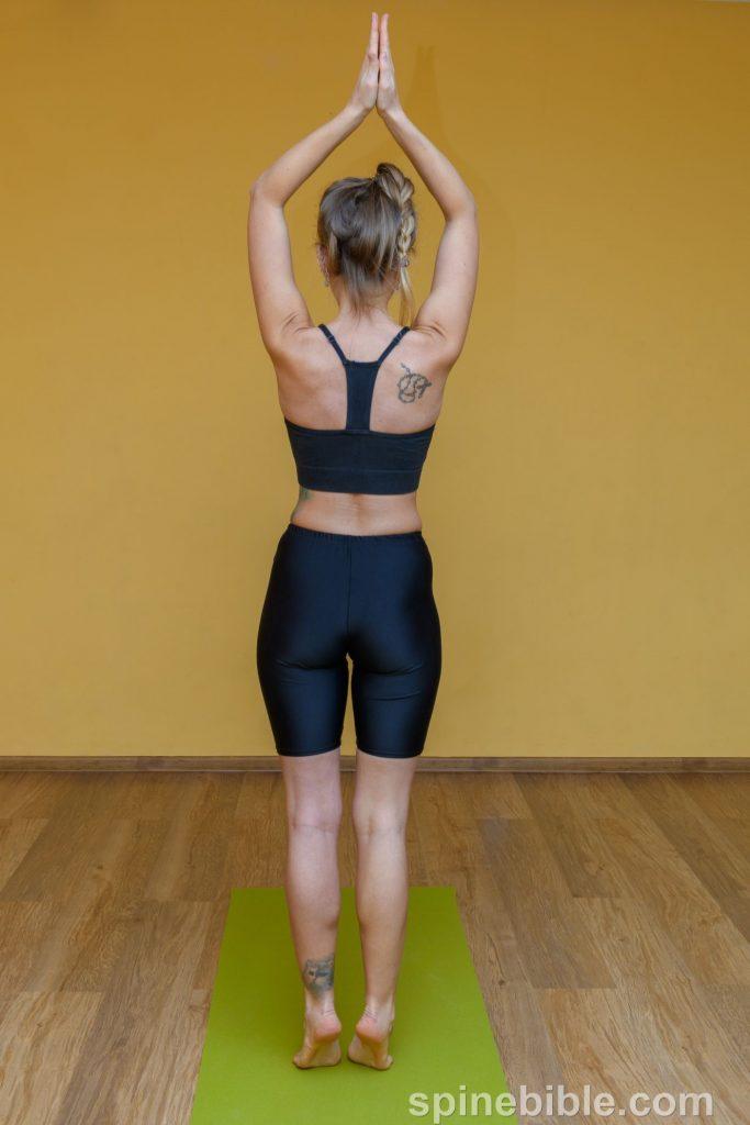 Асана йоги. Потягивание