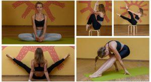 Асаны йоги с учетом КПП  — творческая фотосессия Алёны Антоновой (52 фото)