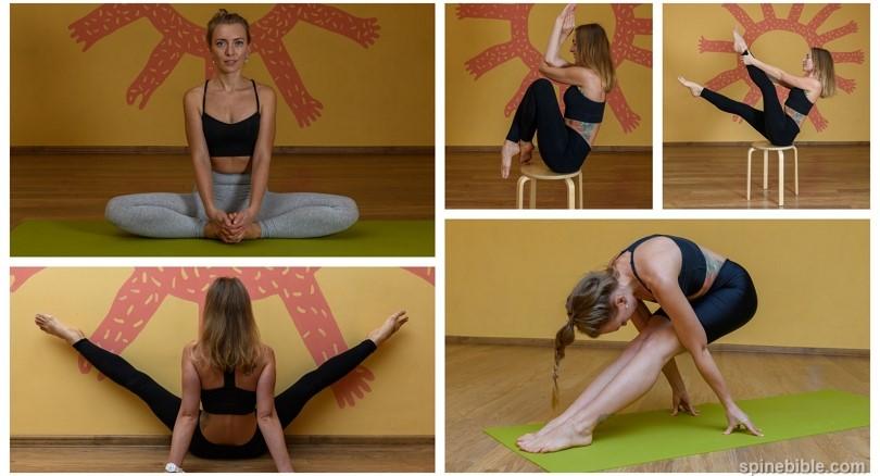 Творческая фотосессия в асанах йоги (52 фото)