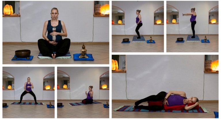 Асаны йоги во время беременности с учетом КПП