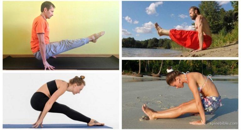 Уголок — асана йоги и просто хорошее упражнение