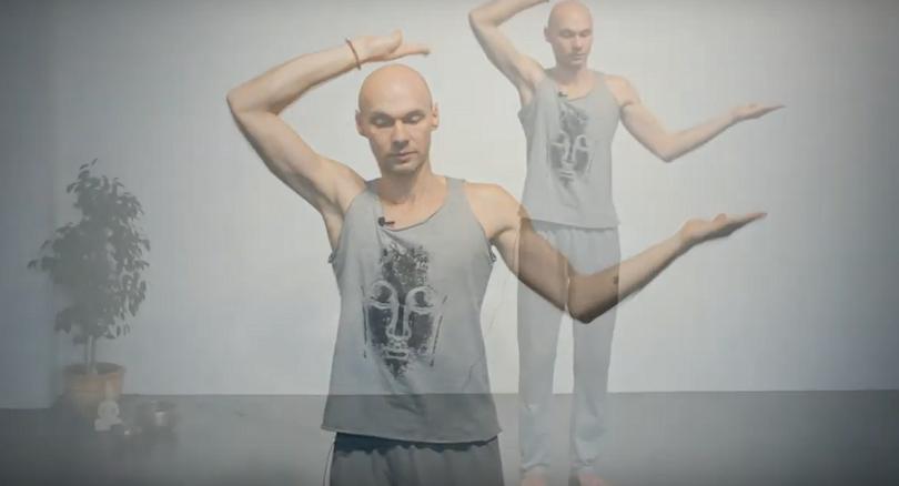Танец Шивы — асимметричные (разнонаправленные) движения (видео, 8 мин)