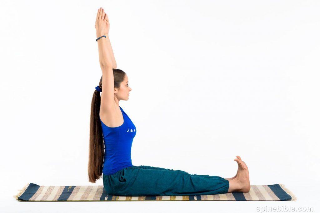 асаны йоги. потягивания