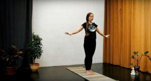 Йога дома. Комплекс упражнений (видео, 12 мин)