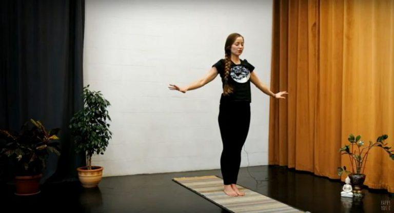 Йога дома. Комплекс упражнений на баланс и равновесие с учетом КПП (видео, 12 мин)