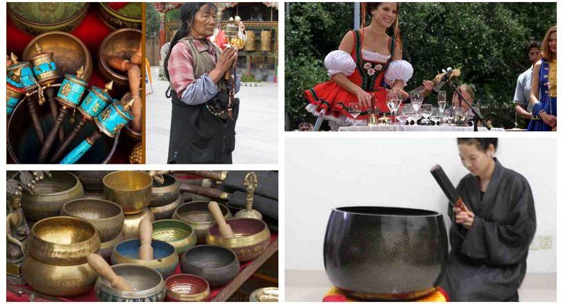 Тибетские поющие чаши как предмет фетиша