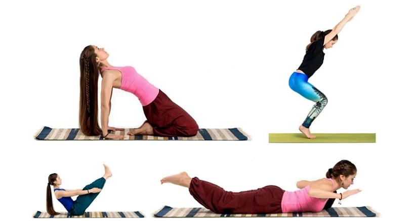 Асаны йоги: алфавитный указатель