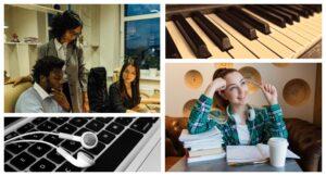 Как фоновая музыка влияет на мозговую активность во время работы